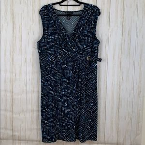 Lane Bryant plus size 14/16 dress with side buckle